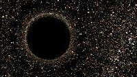 Schwarze-Loch-Simulation