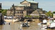 Dresden, Jahrhunderthochwasser Sommer 2013