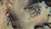 Krater Hale auf dem Mars