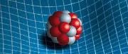 Wirkung von Massen auf die vierdimensionale Raumzeit