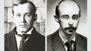 Vesto Siphers und Alexander Friedmann
