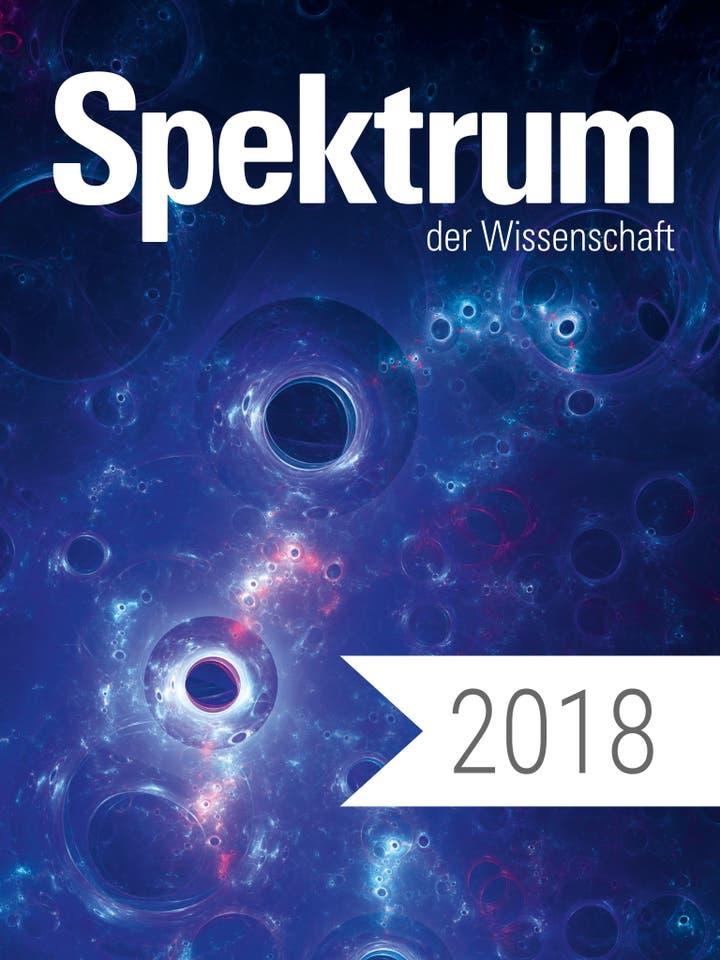 Spektrum der Wissenschaft Digitalpaket: Spektrum der Wissenschaft Jahrgang 2018