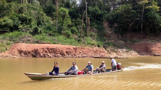 Paläontologen im peruanischen Regenwald