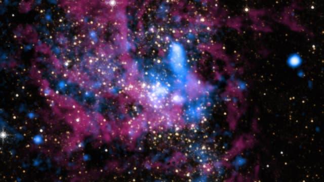 Massereiches Schwarzes Loch Sagittarius A*