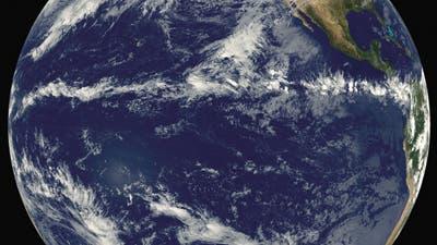 Tropisches Regenband auf Nordkurs