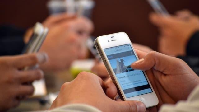 Smartphones mit individuellem Bakteriengemisch