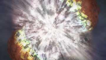 Supernova: Explosives Ende eines Sterns
