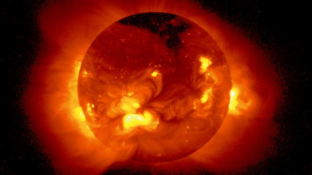 Sonne im Röntgenlicht