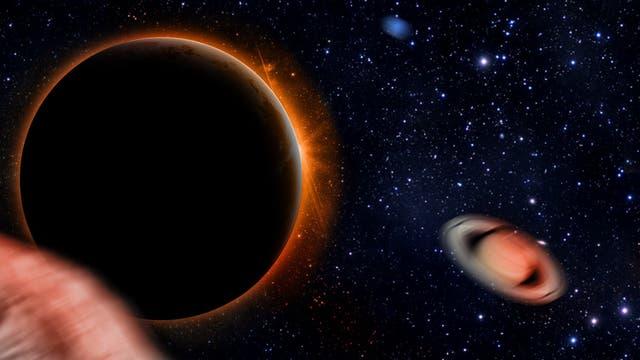 Planet Neun am Ende des Sonnensystems
