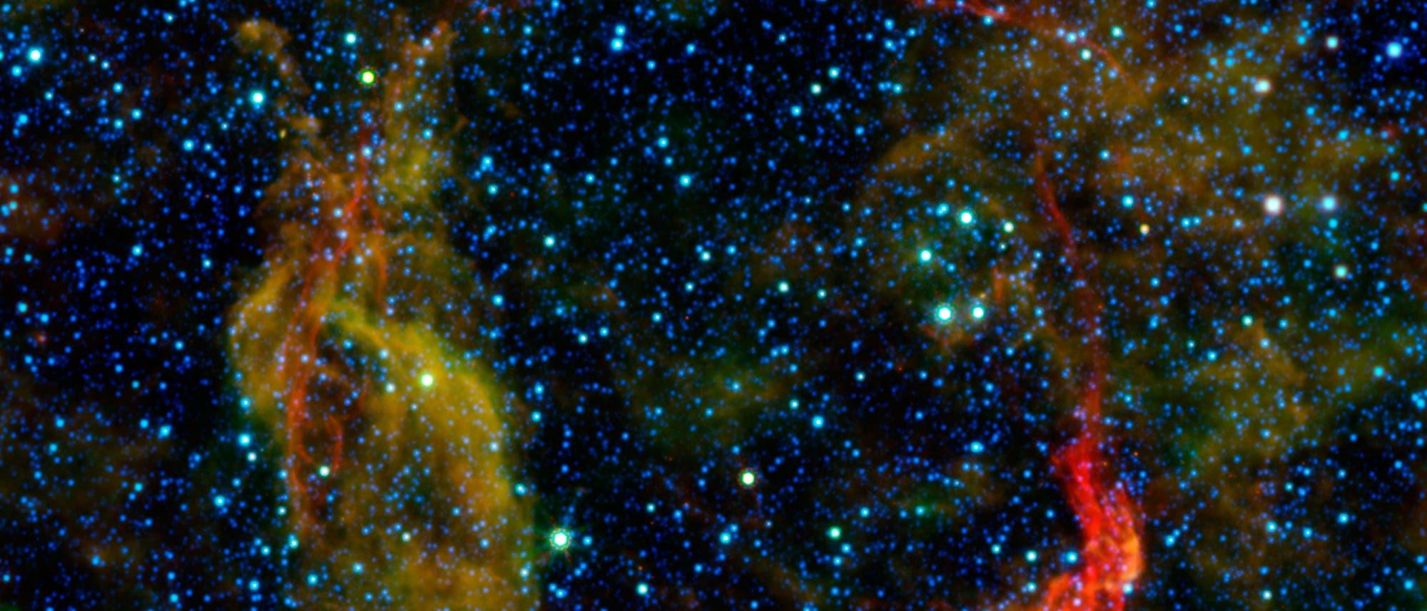 Überreste einer Supernova