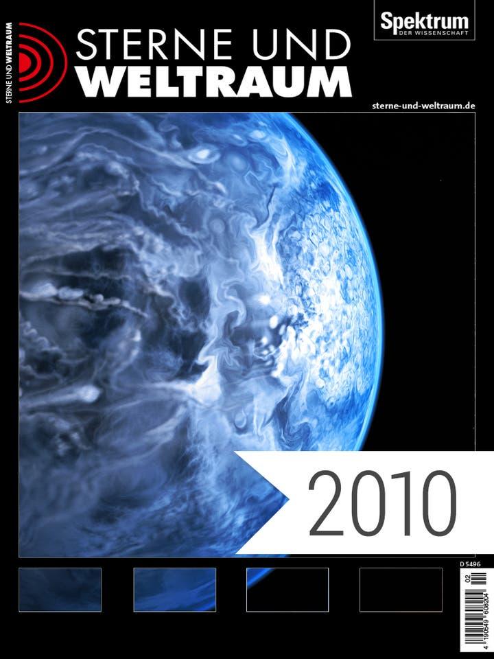 Digitalpaket Sterne und Weltraum Jahrgang 2010 Cover