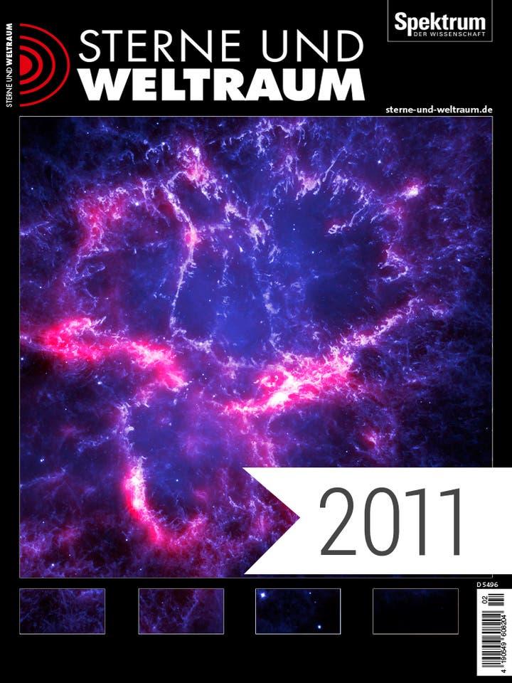 Digitalpaket Sterne und Weltraum Jahrgang 2011 Cover