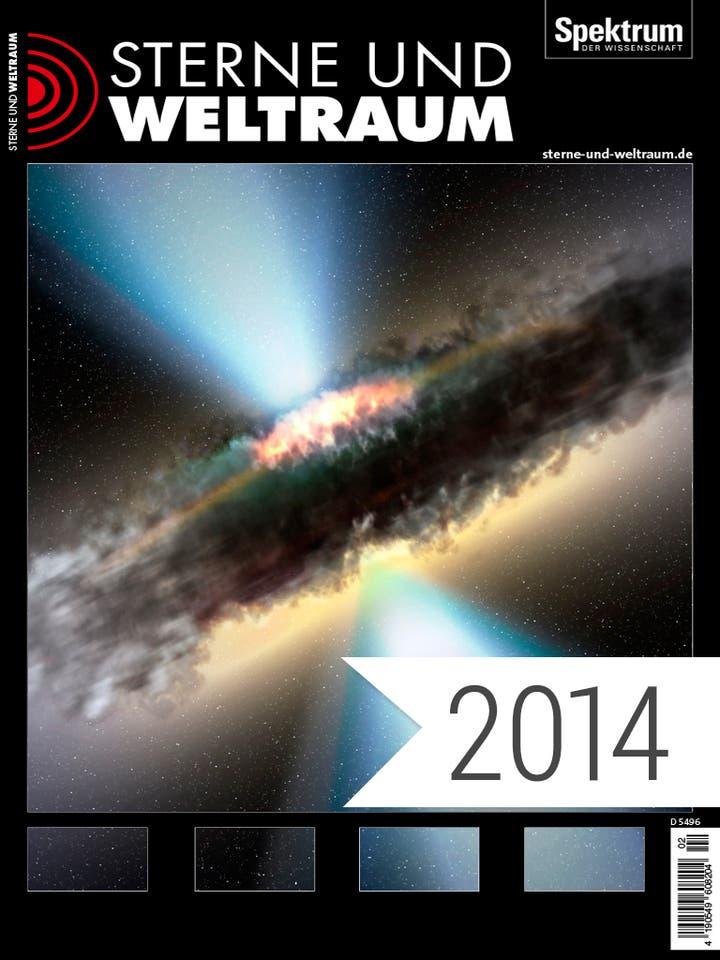 Digitalpaket Sterne und Weltraum Jahrgang 2014