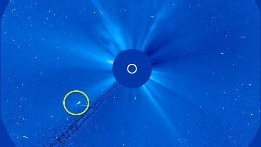 Komet SWAN im Blick von SOHO