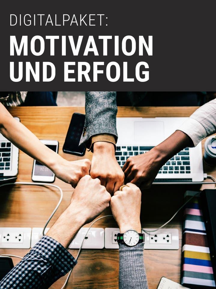 Digitalpaket Motivation und Erfolg Teaserbild