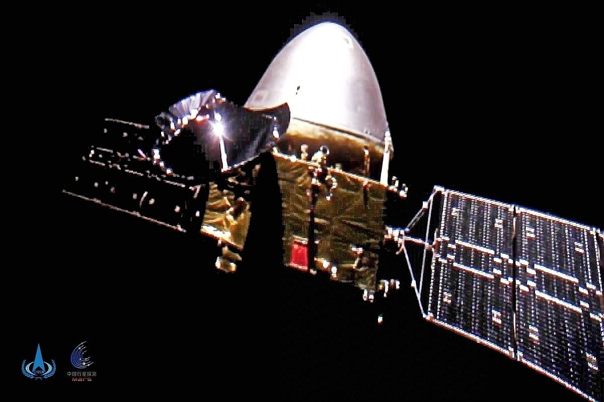 Die chinesische Marssonde Tianwen-1