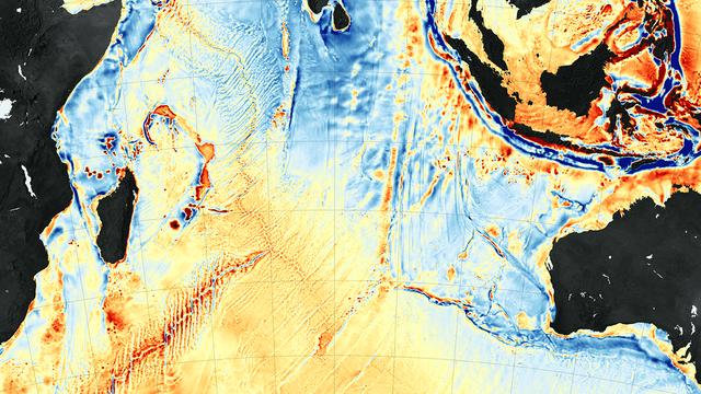 Tiefseeboden im Indischen Ozean