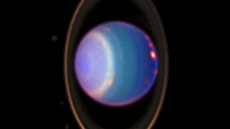 Uranus und sein Ringsystem