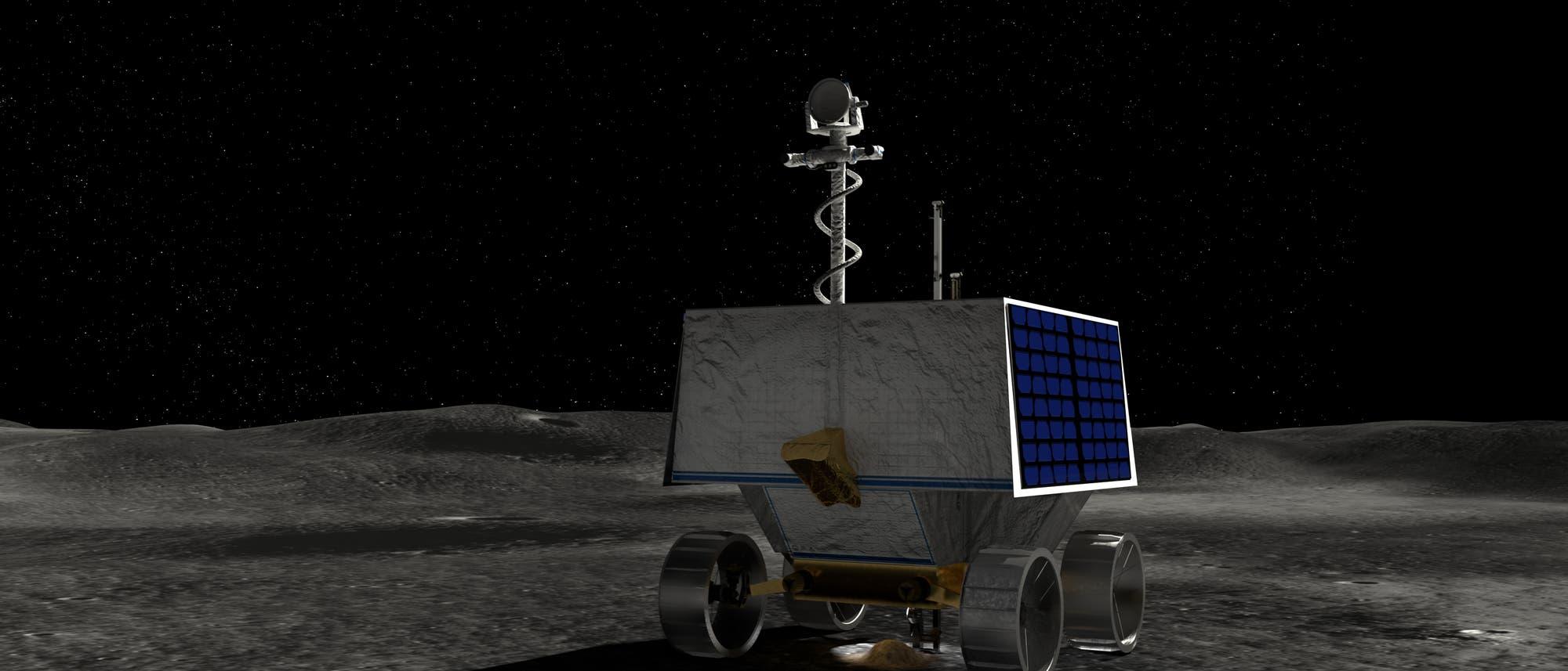 Der Volatiles Investigating Polar Exploration Rover (VIPER) der NASA soll den Weg für eine neue Ära bemannter Missionen zur Mondoberfläche ebnen.