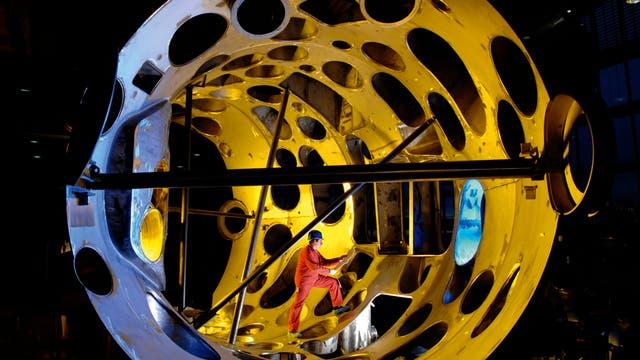 Wendelstein 7-X: Modul des Außengefäßes