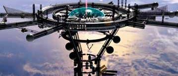 Weltraumaufzug: Orbitalstation
