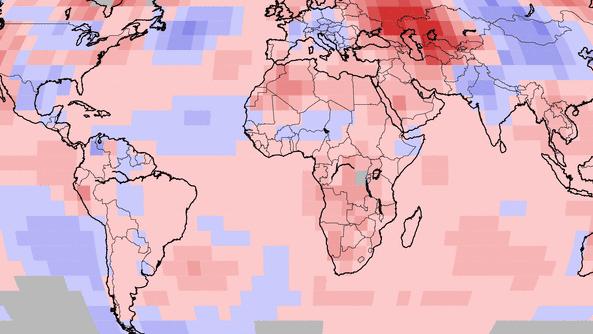 Temperaturabweichungen im Mai