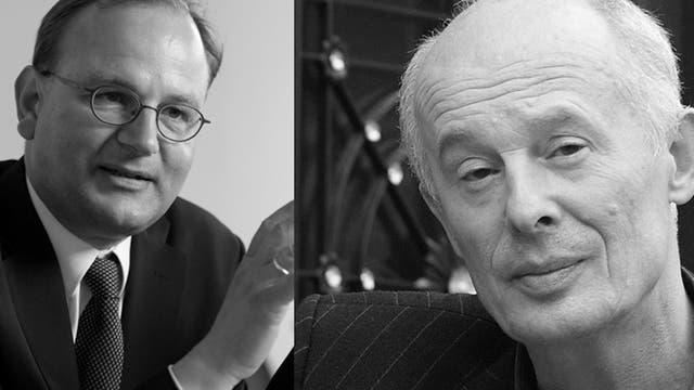 Ottmar Edenhofer und Hans Joachim Schellnhuber