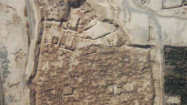 Zerstörte Zitadelle von Bam