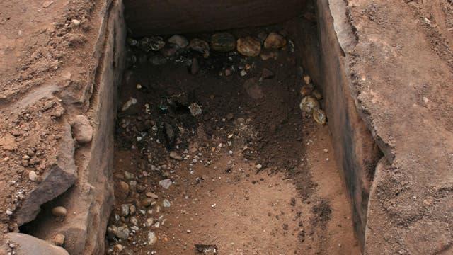 Grabkammer aus der Bronzezeit