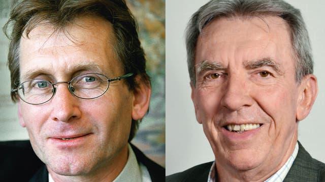 B. Feringa und J.-P. Sauvage, zwei der drei Chemie-Nobelpreisträger 2016
