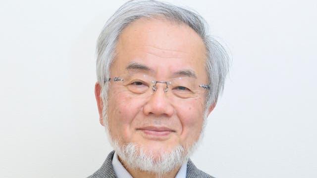Yoshunori Ohsumi, Medizin-Nobelpreisträger 2016