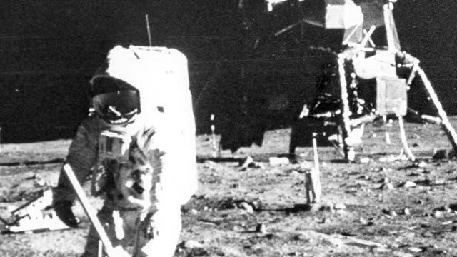 Seismische Messung von Apollo 11