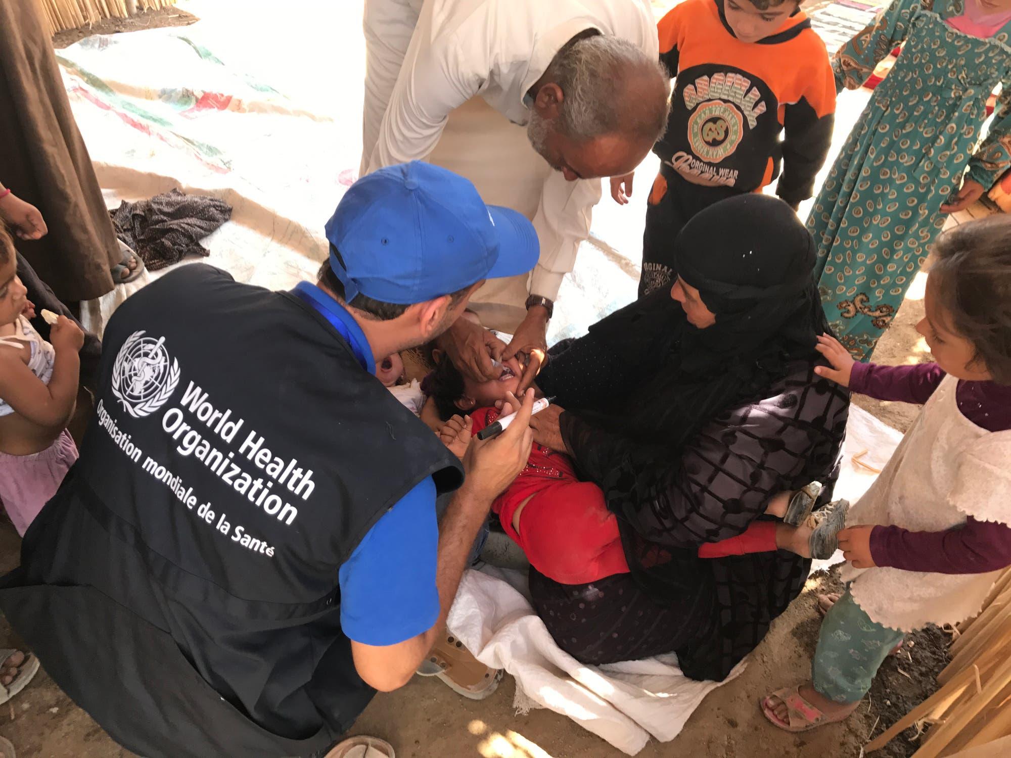 Polio-Impfung in Syrien