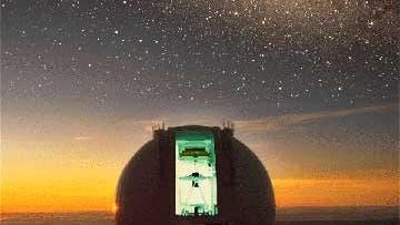 Das William-Herschel-Teleskop auf La Palma