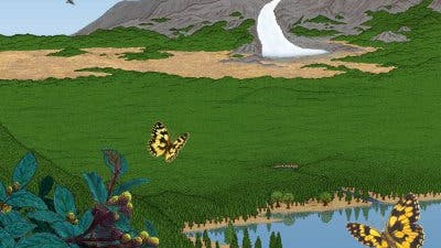 Zwischeneiszeitliches Idyll in Grönland