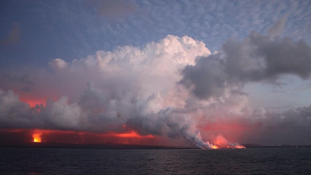 Ausbruch des Kilauea auf Hawaii