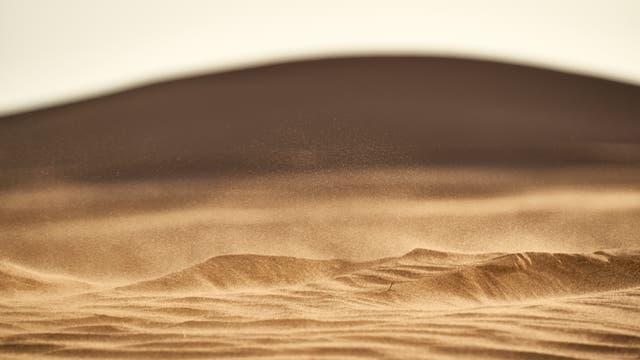 Sand in Bewegung