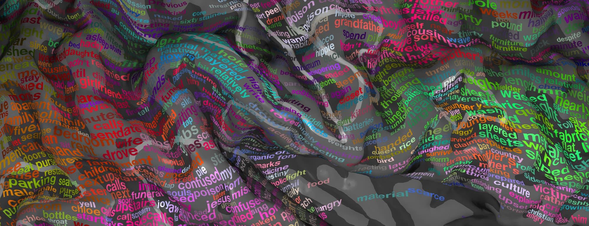 Eine semantische Karte des Gehirns