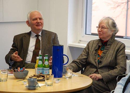 Dr. Michael Aderholz mit Gattin Sabine