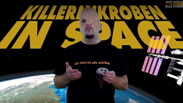 Standbild aus der WWAS-Folge über Weltraummikroben.
