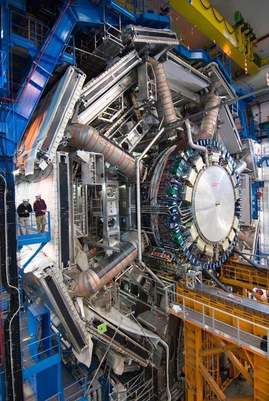 ATLAS-Detektor am Teilchenbeschleuniger des CERN
