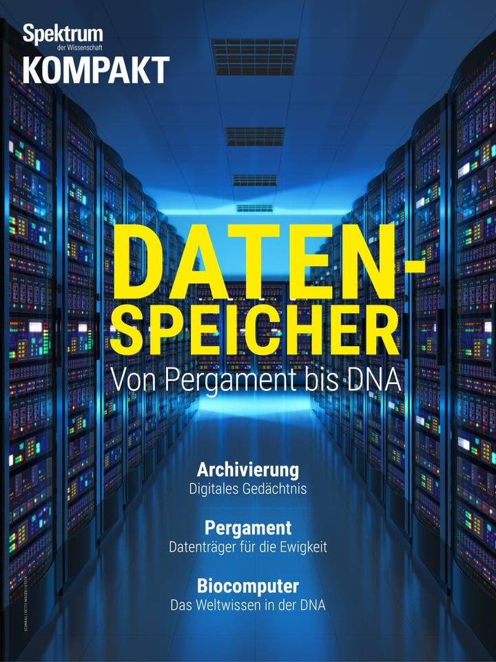 Datenspeicher - Von Pergament bis DNA