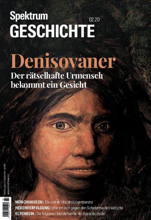 Spektrum Geschichte:  Denisovaner