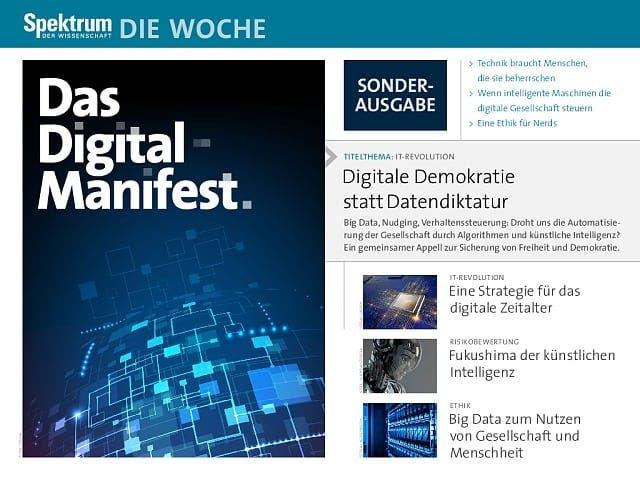 Sonderausgabe:  Digital-Manifest