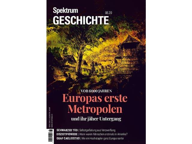 Spektrum Geschichte:  Europas erste Metropolen