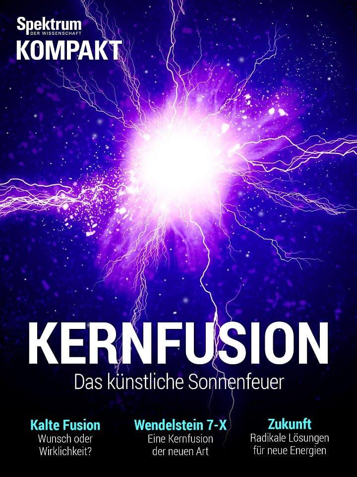 Spektrum Kompakt:  Kernfusion – Das künstliche Sonnenfeuer