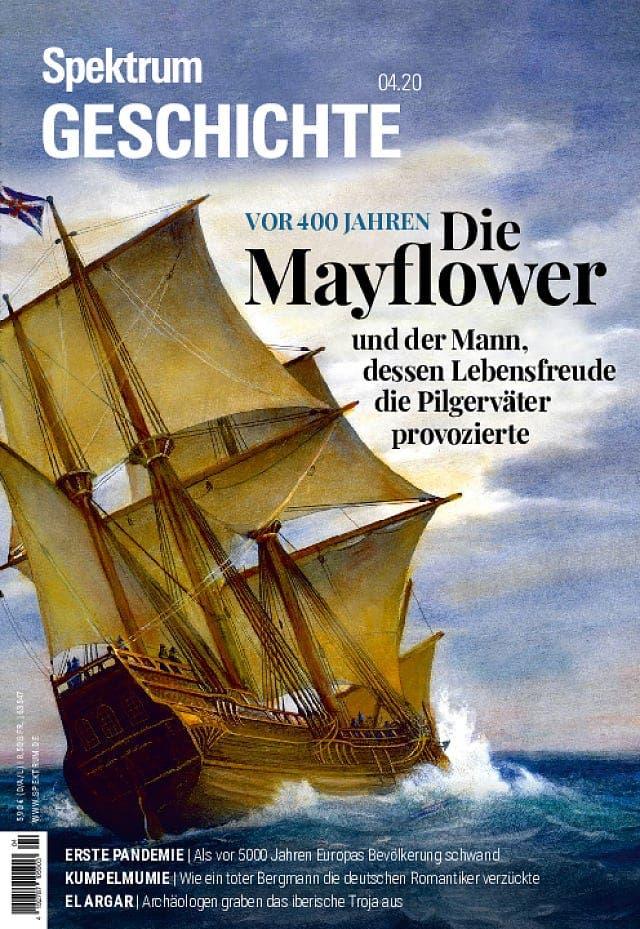 Spektrum Geschichte:  Mayflower