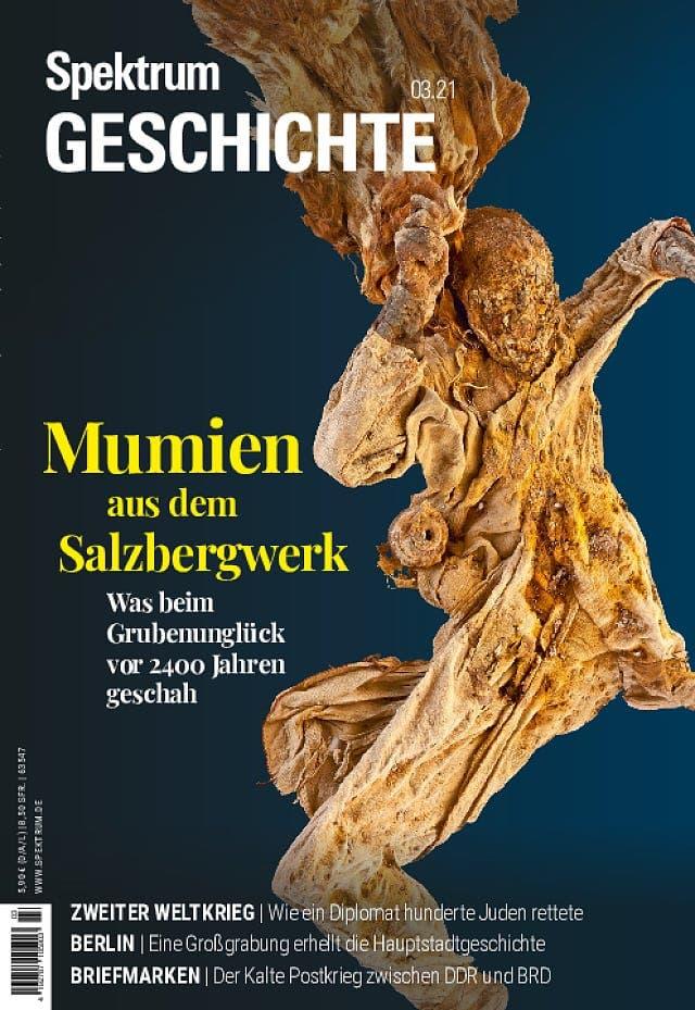 Spektrum Geschichte:  Mumien aus dem Salzberg