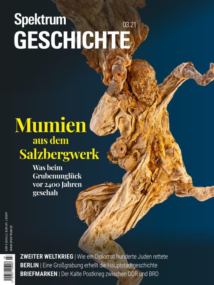 Mumien aus dem Salzberg