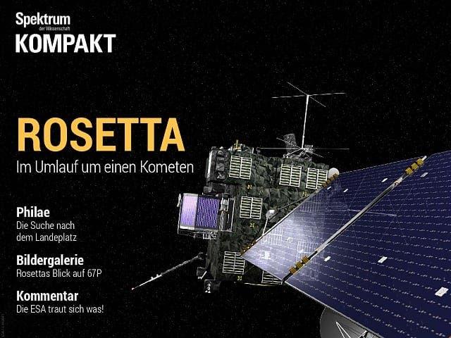 Spektrum Kompakt:  Rosetta – Im Umlauf um einen Kometen